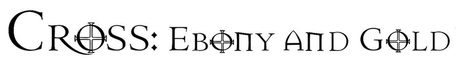 Cross: Ebony and gold (watch) logo