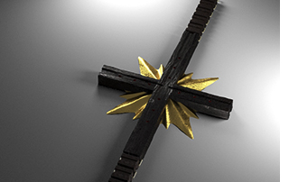 Cross Ebony and Gold Watch 3