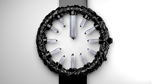 Crystal men's watch